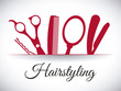 Постер, плакат: hairdressing