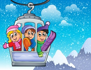 Cable car theme image 2