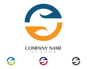 S Logo Template 2