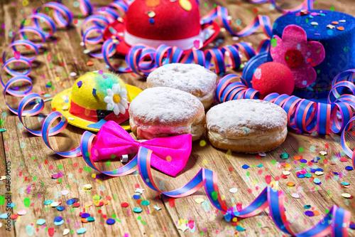 Süße Faschingskrapfen - 75890015