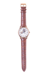 men's wristwatch in isolation
