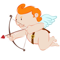 Cupid little angle