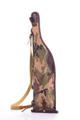 Rifle case isolated