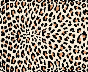 Leopard skin vector