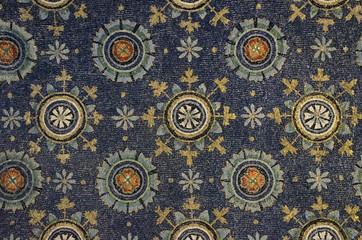 Galla Placidia mausoleum mosaics details, Ravenna