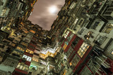 Hong Kong overcrowded flats poster