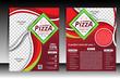 Piizza Flyer design template vector illustration - 75893230