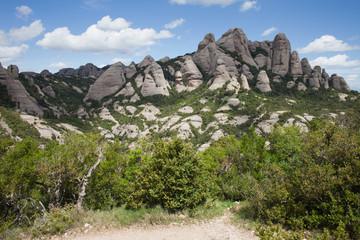 Montserrat Mountain in Spain