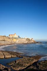 Estoril Coastline by the Atlantic Ocean in Portugal.