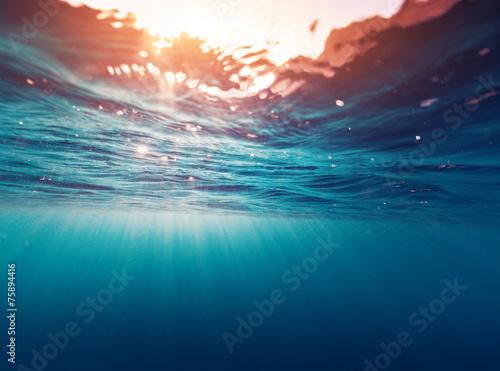 Fototapete Wasser - Wandtattoos - Fotoposter - Aufkleber