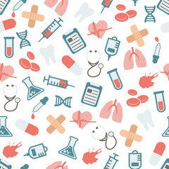 doctor seamless pattern