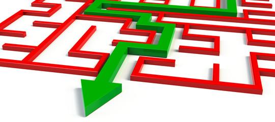 labyrinth lösen lösung