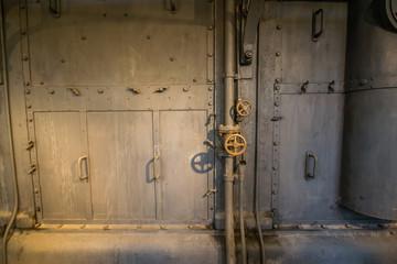 Valvole in una centrale termoelettrica