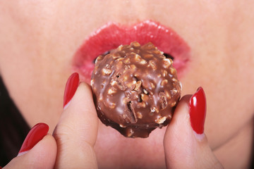 le chocolat ....