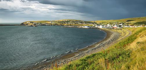 Husavik village, Iceland