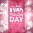 Vector Happy Valentine's card