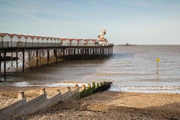 Herne Bay Pier, Kent, UK