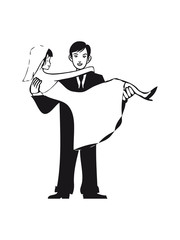 Marriage happy heart love marriage threshold wear