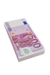 Fünfhundert Euro-Geldscheine