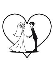 Marriage happy heart love