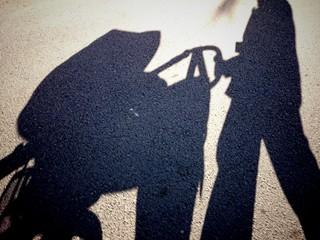 Sombra de silla de paseo