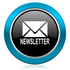 newsletter glossy icon