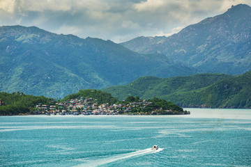 One of the islands near Nha Trang in Vietnam