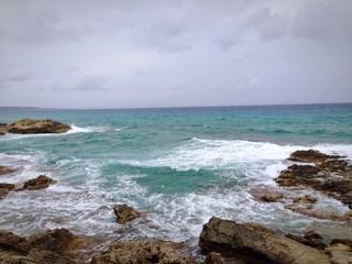 acantilado mar