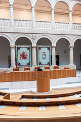 Interior of provincial parliament of La Rioja region