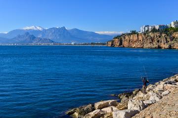 Mediterranean seaside