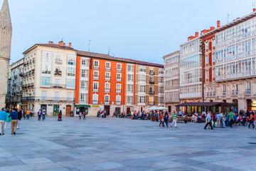 View of city center in Burgos