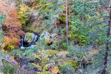 Cascades of a stream Puente Ra