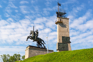 Victory Monument in Novgorod the Great, Russia