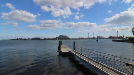 Seaside View from Copenhagen Harbor