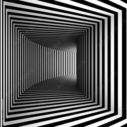 curved hallway © numax3d
