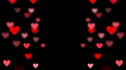 Heart Levitation isolated