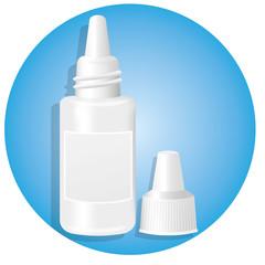 Medication eye drops for eye irritation
