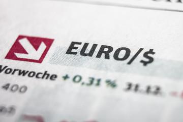 Euro Dollar Macro Concept