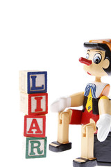 Pinocchio and word liar