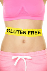 Gluten free health and Celiac disease concept