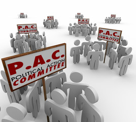 PAC Political Action Committe Special Interest Groups Lobbyist P