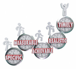 SMART Specific Measurable Achievable Realistic Timely Goals Obje