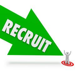 Recruit Arrow Hire Job Candidate Find Best Employee