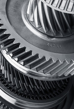 Gear metal wheels