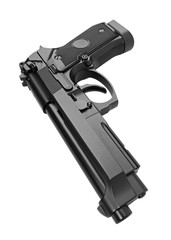 Semi-automatic gun
