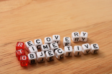 RTO recovery time objective