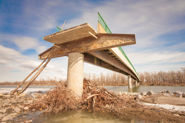 Flood Damaged Bridge