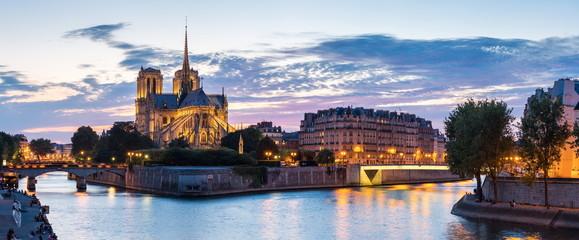 Paris Notre Dame Panorama