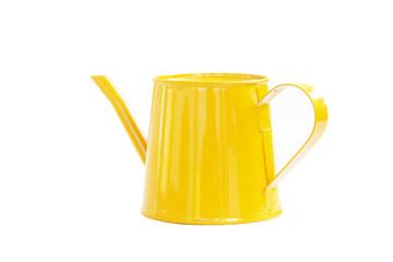mini yellow watering can