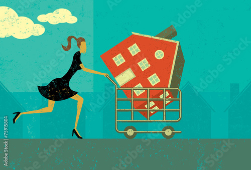 Shopping for a Home - 75915804